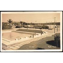 Cartão Postal Antigo Belo Horizonte Mg Iate Club Pampulha