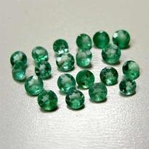 Lote De Esmeralda Com 100 Pedras..só R$ 220.00.1.50 Mm