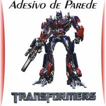Adesivo De Parede Decorativo Transformers Grande Rln123