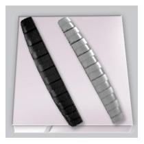 Protetor Flexivel Para Porta Automotiva 3 Cores Frete Grátis