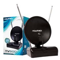 Antena Aquário Tv-500 Indoor 3 Em 1 - Pronta Entrega!