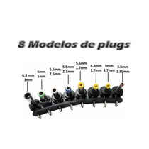 Kit 8 Conector Plug Fonte Universal Notebook Acer Positivo