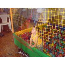 Rede De Piscina De Bolinha ,pisc. P/ Bolinhas Cama Elastica