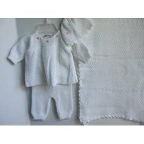Conjunto De Batizado Baby Trousseau Importado Eua Menina