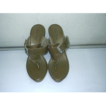 218 X) Tamanco Marrom Nº 37 City Shoes