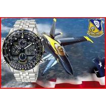Citizen Jn0040 Navyhawk Blue Angels - Jn0040-58l