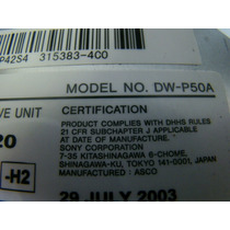 Gravadora De Cd E Dvd Ide Sony Model Dw-p50a Hp Compaq Etc