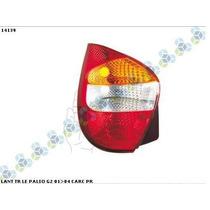 Lanterna Traseira Le/ld Ht Palio G2 01>04 Carcaça Preta