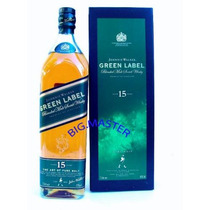 Whisky Johnnie Walker Green Label 1000ml Uísque 15 Anos