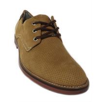 Sapato Casual Pegada Bico Redondo Couro Legitimo 21906