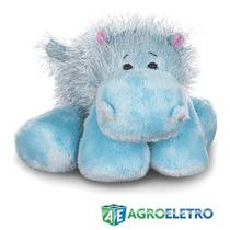 Pelúcia Hipopótamo Webkinz Bichinho Virtual Real Brinquedo