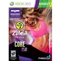Jogo Lacrado Zumba Fitness Core Para Xbox 360 Kinect Ntsc