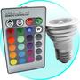 Lampada Led 16 Cores C/ Controle Remoto Bivolt 110v & 220v