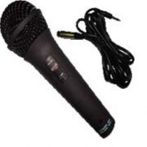 Microfone Csr 505 Par Prata E Preto C/ Cabo Aquicompras