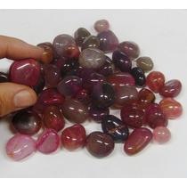 Dal Corsi Pedras Roladas Agata Rosa 10 Pedras Só 5,00