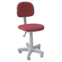 Cadeira Secretaria Giratória Anatômica Base Cinza