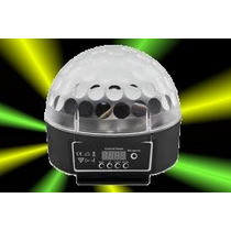 Bola Led Scan - Leds Alta Potencia -dmx- Video - Curitiba