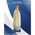 Imagens De Santos Católicos - N. S. De Fátima De Borracha