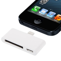 Adaptador Lightning Iphone 5 P/ Apple 30 Pinos E Usb