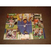 Pôster Guerin Sportivo Craques Eurocopa 96 42 Cm. X 54 Cm.