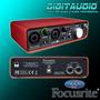 Focusrite Scarlett 2i2 Usb -melhor Que Fast Track E Audiobox