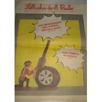 Folhinha De São Paulo- Edição 1235- 3 De Maio De 1987