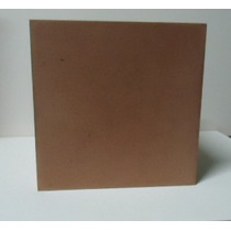 Cubo De Madeira Mdf Crú Dimensões 20 X 20 X 20