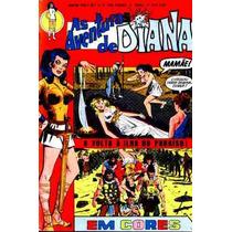 As Aventuras De Diana Nº 1 - Ebal - 1973 - Em Cores