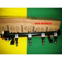 Flauta Com 04 Bicos Injetor Ford Ecosport Flex 0280158238
