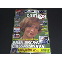 Revista Contigo Rara 1995 Senna Envia Mens.do Além Para Xuxa