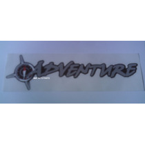 Adesivos Adventure Gde + Botons Coroa Dos Louros 58mm Mmf A
