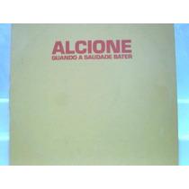 Alcione Quando A Saudade Bater Lp Vinil Single Mix Rca 1990