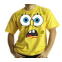 Camiseta Adulto Ou Infantil Bob Esponja Ai Que Medooo