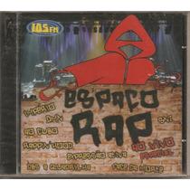 Espaço Rap - Ao Vivo Especial - Cd Raro - Novo E Lacrado!!