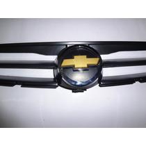 Grade Radiador Corsa Classic Life 03/... Com Gravata Dourada