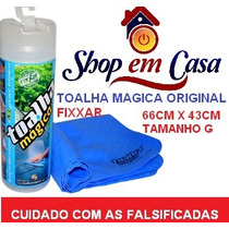 | Toalha Magica | Fixxar 66x43cm Mult Uso |caixa C/10 Unid|