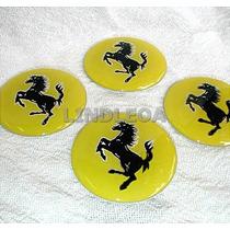 40mm Emblemas Centro Rodas Ferrari F-40 Dino 308 358 328 355