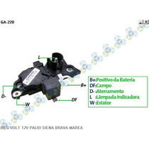 Regulador De Voltagem Fiesta Sedan 1.6 09/04 14v - Gauss