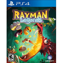 Rayman Legends. 100% Em Portugues. Novo. Ps4.