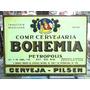 Cerveja Bohemia Lindo Quadro Artesanal Poster Madeira