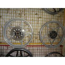 Par De Rodas Estrela Originais Suzuki Katana 125