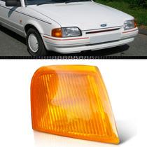Lanterna Pisca Dianteiro Escort 87 88 89 90 1991 1992 Ambar
