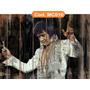 Quadros Rústico Elvis Presley Madonna Queen Raul Seixas