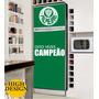 Kit Adesivo / Skin Geladeira Envelopamento Palmeiras Times