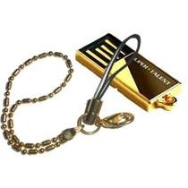 Mini Pen Drive Pico C Gold Super Talent 16gb Usb C/ Corrente