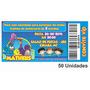 Convite Infantil Galinha Pintadinha Personalizado - 50 Unid