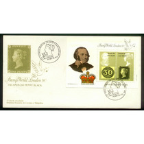 Fdc 500 - 150 Anos Do 1º Selo -penny Black - 1990
