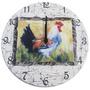 Relógio De Parede Galo Madeira