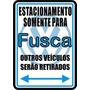 12184- Placa Decorativa Carro Auto Fusca Volkswagen Sedan