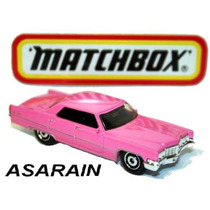 Cadillac Sedan Deville 69 Rosa Matchbox - 1/64